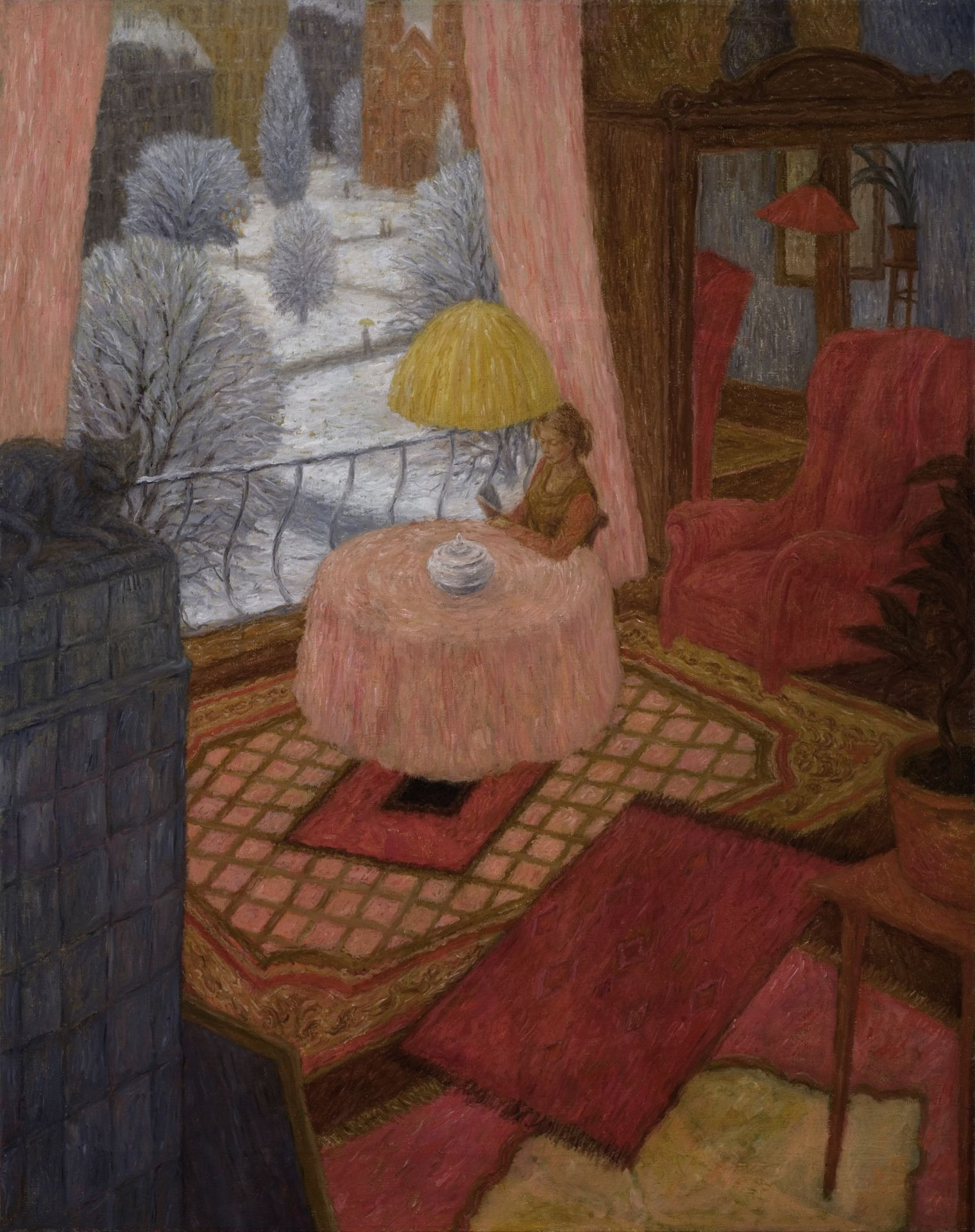 Living Room in the Winter  Iwo Zaniewski